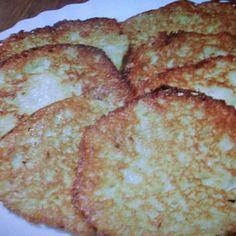 KARTOFFELPUFFER ( Potato Pancakes )