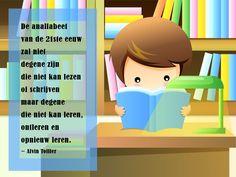 #citaten #analfabetisme #Toffler #leren Quote van de week 9-2013 -- door Tekstbureau Van Ginneken