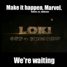 Loki: God of Mischief - The featurette was nice. But I'm still waiting for him to get his own movie! And Tom Hiddleston needs to play Loki. Loki Thor, Tom Hiddleston Loki, Loki Laufeyson, Marvel Funny, Marvel Memes, Marvel Dc Comics, Marvel Avengers, Avengers Memes, Superwholock