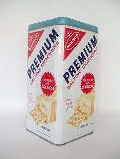 Nabisco Tin Cracker box - still have one