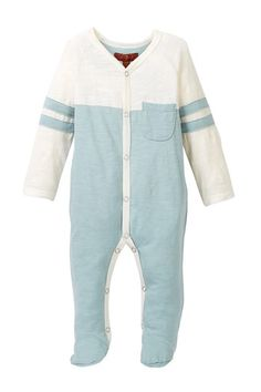 Raglan Footie (Baby Boys) by 7 For All Mankind on @nordstrom_rack