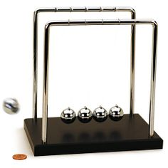 Newtons Cradle - Large - 7 inche  this website has a ton of cool science stuff
