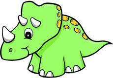 Dinosaur Vector Royalty Free Stock Photography