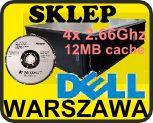 DELL QUAD 4x2.66Ghz 12MBcache/Win 7 PRO PL NOŚNIK
