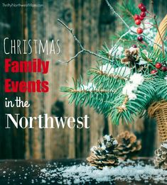 Pacific Northwest Christmas Events, Tree Farms and Bazaars - 2019 Edition Find the best Christmas festivals, events, bazaars & tree farms in the Northwest. Seattle, Portland and more! Christmas Events, Christmas Planning, Christmas Tree Farm, Christmas Gift Guide, Family Christmas, Christmas Desserts, Christmas 2015, Merry Christmas, Christmas Activities