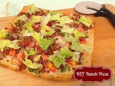 BLT Ranch Pizza