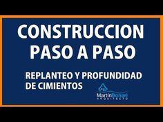 Construcción paso a paso, desde los cimientos hasta la terminación...