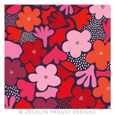 "Jocelyn Proust on Instagram: ""Happy weekend! #jocelynproustdesigns #surfacedesign #printdesign #floral #textiledesign"" Happy Weekend, Teaching Art, Surface Design, Textile Design, Print Design, Art Projects, Minnie Mouse, Disney Characters, Fictional Characters"
