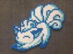 Pokémon: Stretching Alolan Vulpix Perler Bead Pattern – Decor Ideen Po… – Famous Last Words Bead Embroidery Patterns, Bead Crochet Patterns, Pearler Bead Patterns, Perler Patterns, Weaving Patterns, Mosaic Patterns, Painting Patterns, Art Patterns, Quilt Patterns