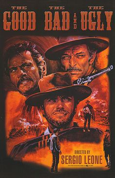 The Good, The Bad, and the Ugly. Great movie, great soundtrack. 33 1/3 record.