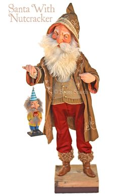 All Things Christmas, Christmas Time, Christmas Ideas, Holiday Break, Holiday Fun, Scott Smith, Santa Decorations, Curiosity Shop, Old Fashioned Christmas