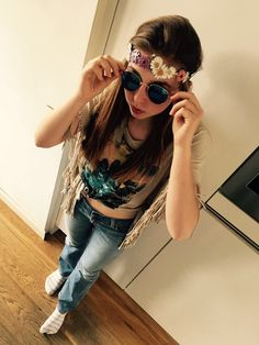 My hippie outfit✌️✌