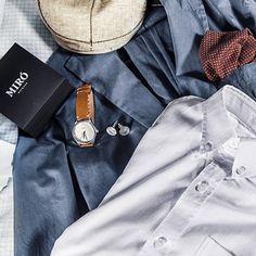 Miró Watches — Creme Face Nature Strap - Wardrobe