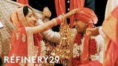 On this World Wide Wed episode, best friends Sonya and Harsh come from two different regions of India, so when it came to their wedding, they combined the cu. Indian Wedding Poses, Wedding Sari, Never Getting Married, We Get Married, Destination Wedding, Wedding Planning, Indian Marriage, Traditional Indian Wedding, South Indian Weddings