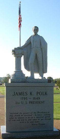 James Polk - 11th United States President.