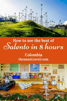 How to see the best of Salento in 8 hours Visit Colombia, Colombia Travel, South America Destinations, South America Travel, Amazing Destinations, Travel Destinations, Natural Park, Bolivia, Central America