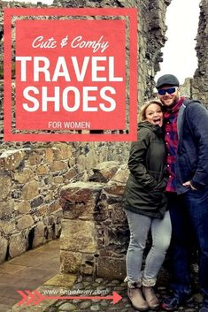 Cute & Comfy travel shoes - boots, flip-flops, sandals, heels - for women! What I packed on my hiking adventure in Ireland/Northern Ireland. #Ireland #TravelTips