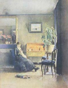 Interior - Harriet Backer Norway   Norske malere   Pinterest ...