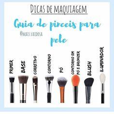 Discover more about makeup, hair and nails Glam Makeup, Makeup Tips, Face Makeup, Perfect Makeup, Gorgeous Makeup, Make Tattoo, Makeup Step By Step, Make Beauty, How To Make Hair