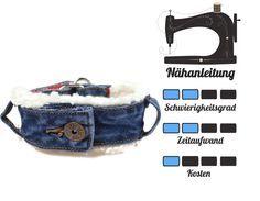 Jeansupcycling Idee – Halsband Selbernähen