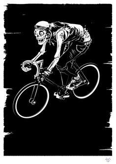 Matt Taylor. Illustrations by Matt Taylor: ... - Supersonic Electronic Art #bike #skull