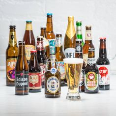 Take him on a trip around the world via this award winning beer collection from Beer Hawk - which includes 15 bottled beers from across Belgium, Germany and America