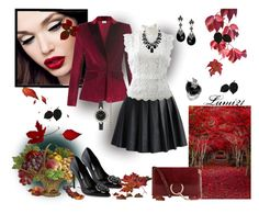 """""""Fall is comming.."""" by lumi-21 ❤ liked on Polyvore featuring Altuzarra, Chicwish, Oscar de la Renta, Prada, Natures Jewelry, Genevieve & Grace, 2028 and Chloé"""