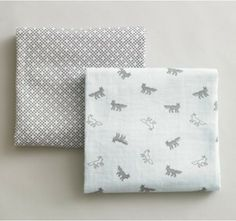 fox themed finds swaddle blankets