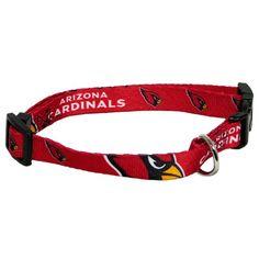 Hunter MFG Arizona Cardinals Dog Collar Large * Click on the image for additional details.