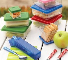 PBK loves being eco-friendly! The Spencer Clear Food Storage set is great for packing lunches and helps us avoid wasting plastic baggies.
