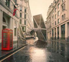 Les vaisseaux de Star Wars écrasés sur la terre par Nicolas Amiard  2Tout2Rien