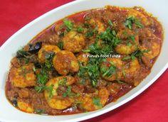Food Funda: Kolambiche Lipte ~ Konkani Style Prawns Masala