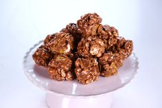 the chew S'mores Popcorn Balls