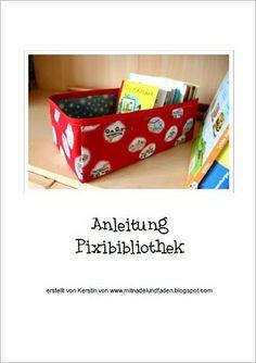 Mit Nadel und Faden: Pixibücherbibliothek