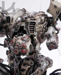 Zampriolo's mechs are amazing. Too bad they're hard to get.