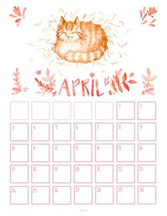 Free Printable Calendar By Month  NoFrills Big Blank Date