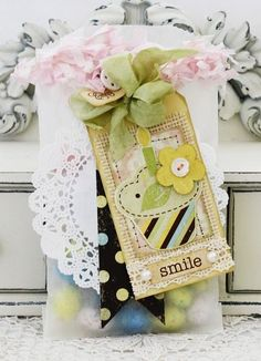 Smile Tag and Bag - Melissa Phillips