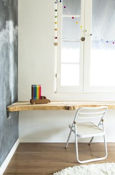 Live edge desk, Animal Print Shop | Remodelista