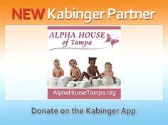 Welcome aboard to the Alpha House of Tampa. Pin them in the app to donate to help pregnant women and mothers in need