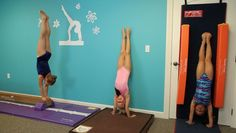 Handstand Homework - tumbling gymnastics bars beginner mat gymnasts handstands velcro handstand - Tumbl Trak - Gymnastics, Cheerleading and Dance Equipment