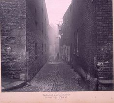 Mullinahack Lane 'Muileann An Caca' in The Dublin Liberties Walking Tour, Digital Image, Dublin, Behind The Scenes, Ireland, Hunting, Tours, Black And White, Street