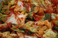 Kimchi: eat some: its fermented quality is good for your GI tract and your immune system! Rare Republic - A Food Community for Waterloo Region New Recipes, Real Food Recipes, A Food, Food News, Food System, Fermented Foods, Sauerkraut, Kimchi, Cabbage