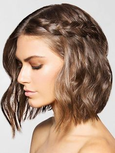Short hair frames your radiant face, so show it off with these amazing 8 braided looks. From french braids to crown braids, there are endless possibilities. So whether you're sporting an edgy bob or a messy pixie, change it up with these braid ideas.