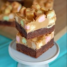 Peanut Butter, butterscotch and marshmallows on top of decadent brownies craving more? check out TasteSpotting http://sulia.com/channel/desserts-baking/f/ba067639faf12dc2368ca3d85b07d56d/?