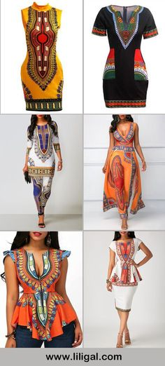 african fashion, african style, dashiki print outfits, tribal print outfits