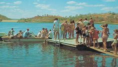 The fun days of early Lake Moondarra Us Beaches, Picnic Area, Speed Boats, Water Crafts, North West, Good Day, The Locals, Skiing, Australia