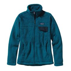 Patagonia Women\'s Full-Zip Re-Tool Fleece Jacket - Underwater Blue - Crater Blue X-Dye UWCX