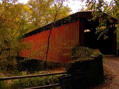 Thomas Mill covered bridge, Fairmount Park, Philadelphia, PA