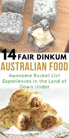 if you are traveling to Australia, sampling our tucker is a must! Here is a list of fair dinkum Australian Food you can only find and must try here in Australia. Not trying any of these before you leave our country… mate… that is soooo Un-Australian! Australia Day, Australia Travel, Australia Visa, Australia Funny, Visit Australia, Aussie Food, International Recipes, Foodie Travel, Yummy Food