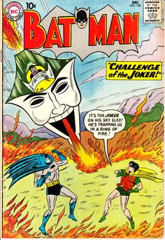 Batman 1940 136  December 1960 Issue  DC Comics  by ViewObscura